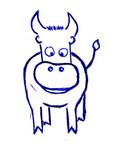 Следы быка
